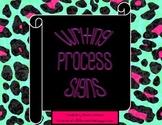 Interactive Writing Process Poster Set