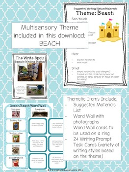 Interactive Writing Station: The Write Spot (Grades 3-5)