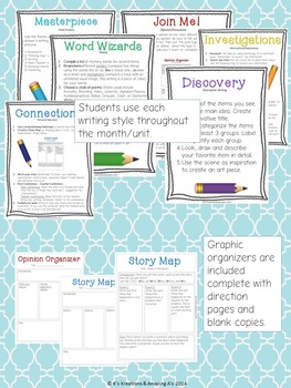 Interactive Writing Station: The Write Spot (Grades 3-5) Complete