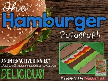 Interactive Writing: The Hamburger Paragraph