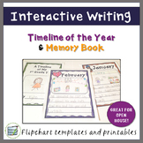 Timeline of the Year | End of the Year Memory Book | Months of the Year Activity