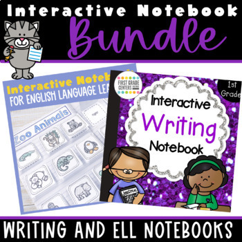 Interactive Writing and ELL/Spelling Dictionary Notebook Bundle