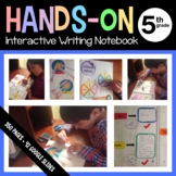Interactive Writing Notebook Fifth Grade Common Core with Scaffolded Notes