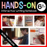 Interactive Writing Notebook Sixth Grade Common Core with Scaffolded Notes