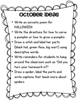 Interactive Writing for Grades K-2
