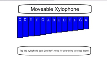 Interactive Xylophone with Pentatonic Charts