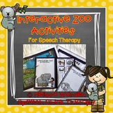 Interactive Zoo Animal Activities for Speech Therapy