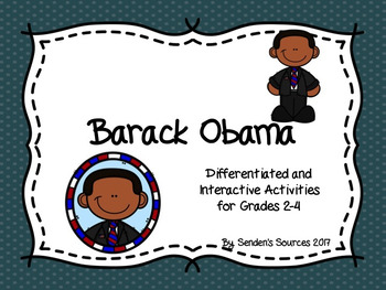 Black History Month ~ Barack Obama ~ Differentiated Activities