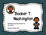 Black History Month ~ Booker T. Washington ~ Differentiated