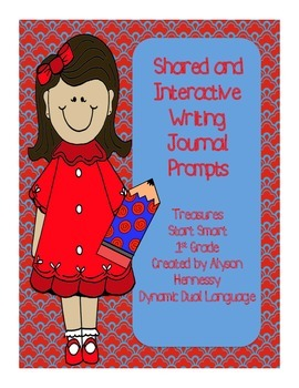 Interactive and Shared Writing Prompts-START SMART TREASUR