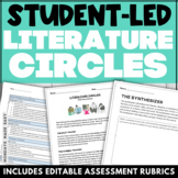 Student-Led Literature Circles, Middle and High School ELA Roles, Peer Rubrics