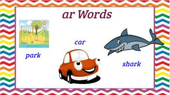 Google Classroom- Interactive ar words activity