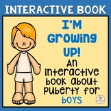 Interactive book:  Boys, puberty, hygiene