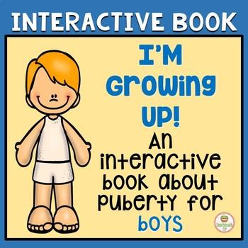 Interactive book:  Boys, puberty, hygiene