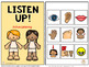 Active Listening, interactive book
