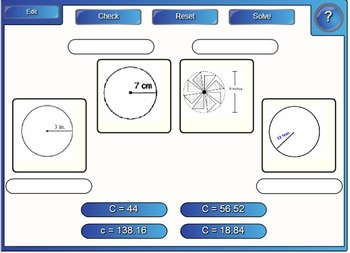Interactive circle warm-ups on the SMART board