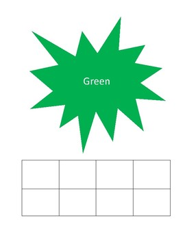 Interactive color sorting activity