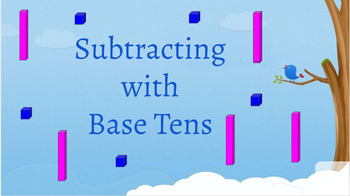 Interactive double digit subtraction (no regrouping)