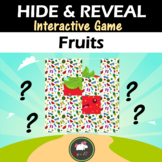 Interactive game Hide & Reveal - Fruits