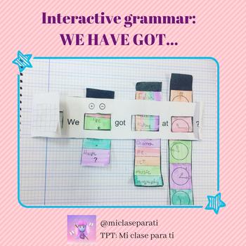 Interactive grammar: We have got