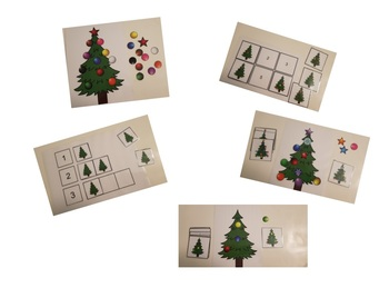 Interactive hands-on Christmas themed activities