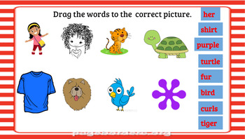Google Classroom- Interactive ir, er, ur Word Work Activities