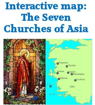 Interactive map of churches in Revelation 2 & 3