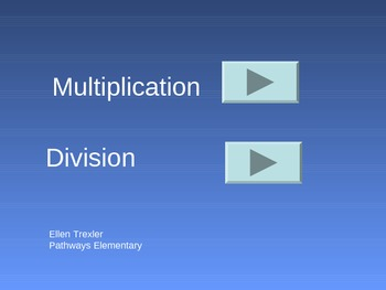 Interactive multiplication/division practice