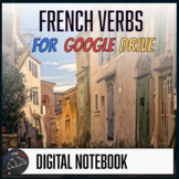 Interactive notebook - French verbs for Google Drive