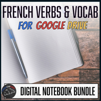Interactive notebook - French vocabulary & verbs- Google drive