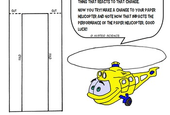 Interactive notebook independent dependent variables helicopter hypothesis 5-9