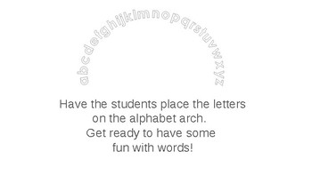 Interactive powerpoint sight words alphabet make words ESL COMMON CORE