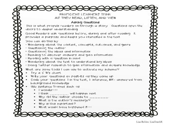 Interactive read aloud Lesson Plan: The Wolves in the Walls