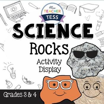 Interactive rocks activity and display