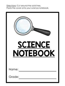 Interactive science notebook covers {FREEBIE}