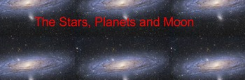 Interactive smart board Stars and Planets
