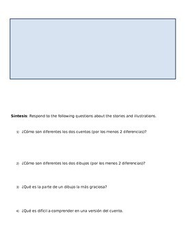 Interactive writing: Preterite/Imperfect practice and review/ (Realidades 2 4b)