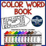 FREE Color Words Book