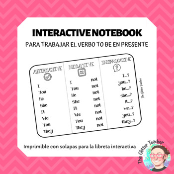 [INTERACTIVE NOTEBOOK] Verb TO BE