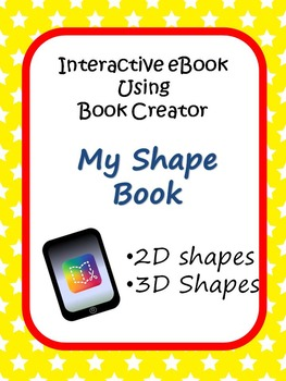 2D and 3D Shapes iPad Project using Book Creator App