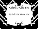 Interchangeable Calendar Cards
