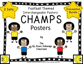 Interchangeable Champs Posters (Football Themed Growing Bundle)