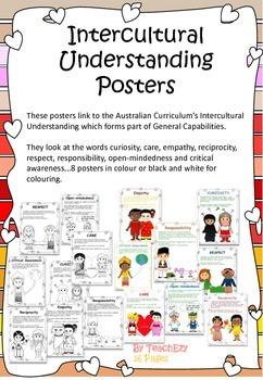 Intercultural Understanding Posters