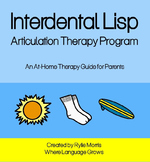 Interdental Lisp - Articulation Therapy Program