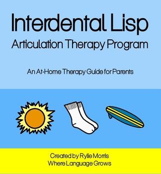 Interdental Lisp - Articulation Therapy Program