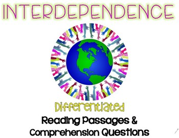 Interdependence Differentiated Leveled Text Reading Passages