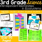 Interdependent Relationships {aligns to NGSS 3-LS2-1, 3-LS4-1, 3-LS4-3, 3-LS4-4}