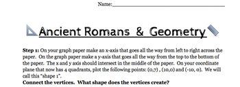 Interdisciplinary: Ancient Romans and Geometry