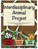 Interdisciplinary/Cross-Curricular Animal Project