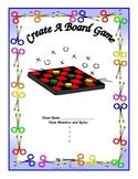 Interdisciplinary Create a Board Game Workbook